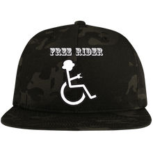 Load image into Gallery viewer, FREE RIDER - Snapback Hat