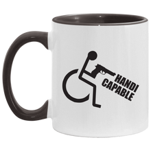 Load image into Gallery viewer, Handi-CAPable - 11OZ Accent Mug