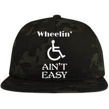 Load image into Gallery viewer, Wheel Ain't Easy - Snapback Hat