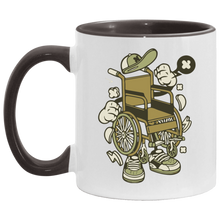 Load image into Gallery viewer, WHEELY - 11OZ Accent Mug