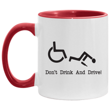 Load image into Gallery viewer, Drink & Roll - 11OZ Accent Mug