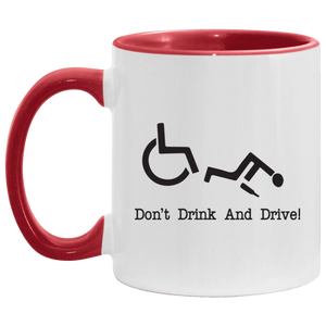 Drink & Roll - 11OZ Accent Mug