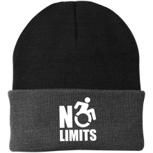 Load image into Gallery viewer, NO LIMITS - Knit Cap