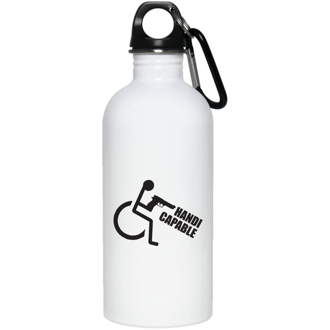 Handi-CAPable - 20 oz. Stainless Steel Water Bottle