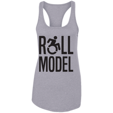 Load image into Gallery viewer, Roll Model - Ladies Racerback Tank