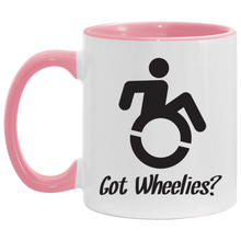 Load image into Gallery viewer, Got Wheelies - 11OZ Accent Mug