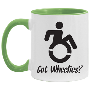 Got Wheelies - 11OZ Accent Mug