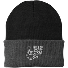 Load image into Gallery viewer, THIS IS HOW I ROLL - Knit Cap