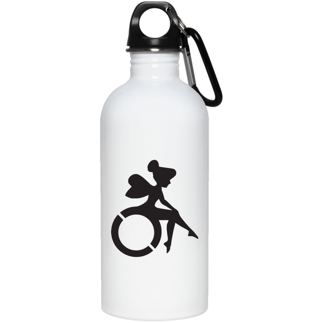 TINKER-WHEEL - 20 oz. Stainless Steel Water Bottle