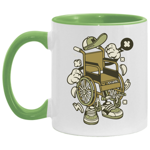 WHEELY - 11OZ Accent Mug