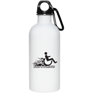 Fast & Furious - 20 oz. Stainless Steel Water Bottle