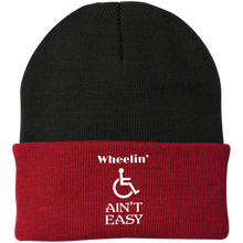 Load image into Gallery viewer, Wheel Ain't Easy - Knit Cap
