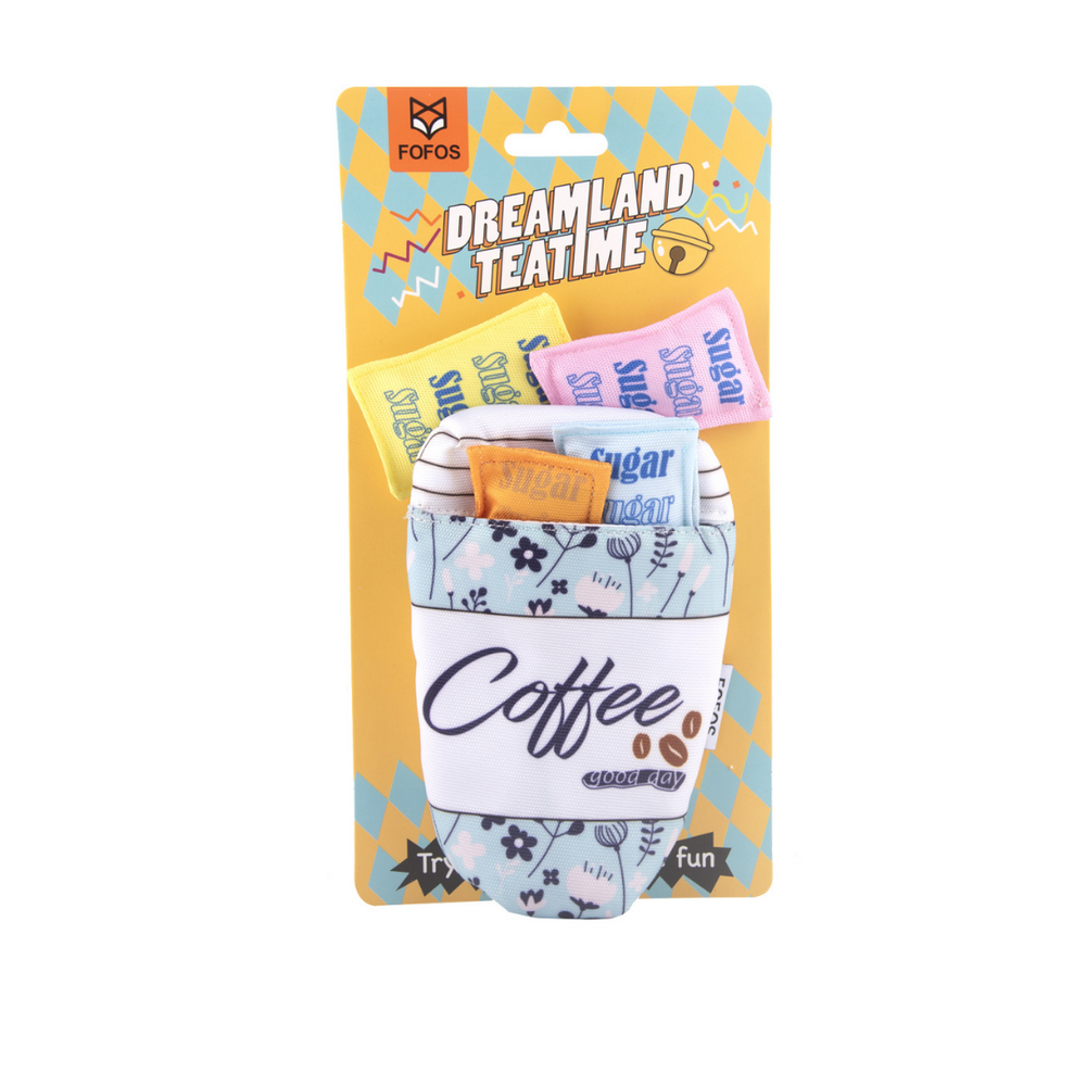 Fofos™: Cat Toy-Dreamland Coffee Toy Pack
