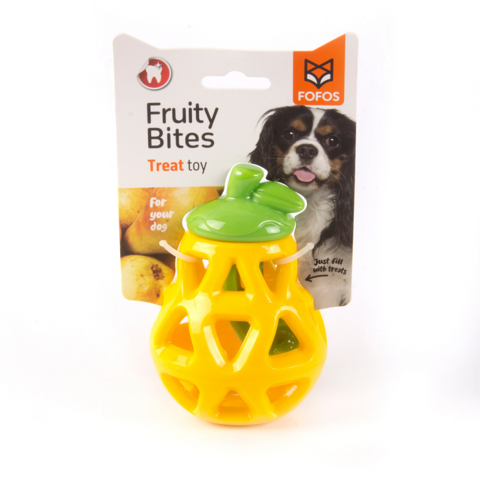 Fofos™: Interactive Treats disp Toy Pear (Fruity-Bites)