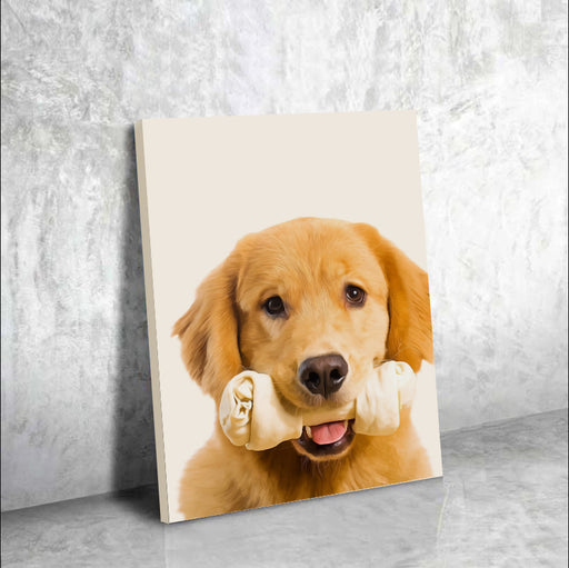 Custom Pet PAWtrait - Canvas