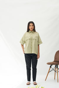 Flared Sleeve Shirt
