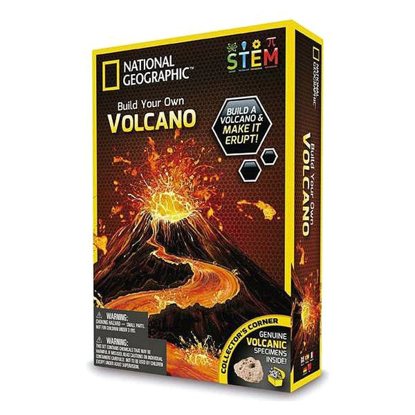 Juego de Ciencia National Geographic Build Your Own Vulcano