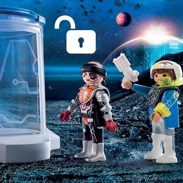 Playset Space Super Set Galaxia Playmobil 70009 (24 pcs)