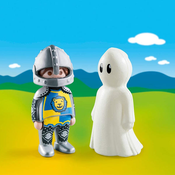Muñecos Knight With Ghost 1.2.3 Playmobil 70128