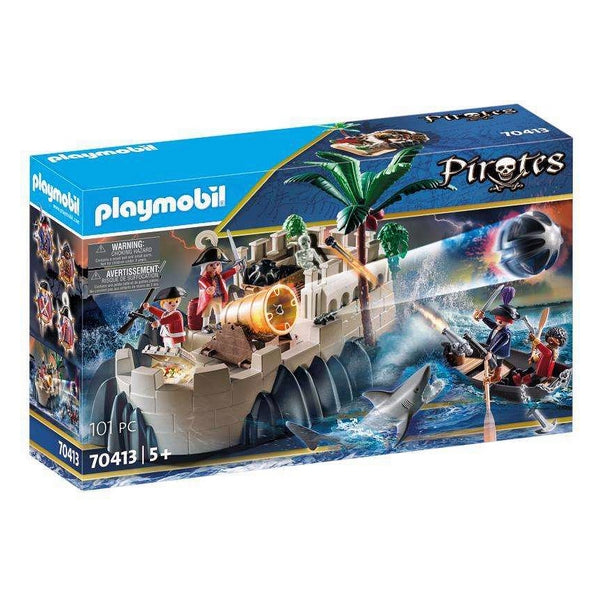 Playset Pirate Bastion Playmobil 70413 (101 pcs)