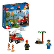 Playset City Barbacue Burn Out Lego 60212
