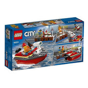 Playset City Dock Side Fire Lego 60213
