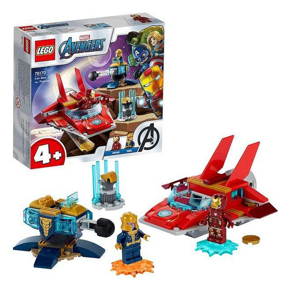 Playset de Vehículos Lego Iron Man Heroes vs Thanos