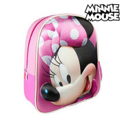 Mochila Escolar 3D Minnie Mouse 8096