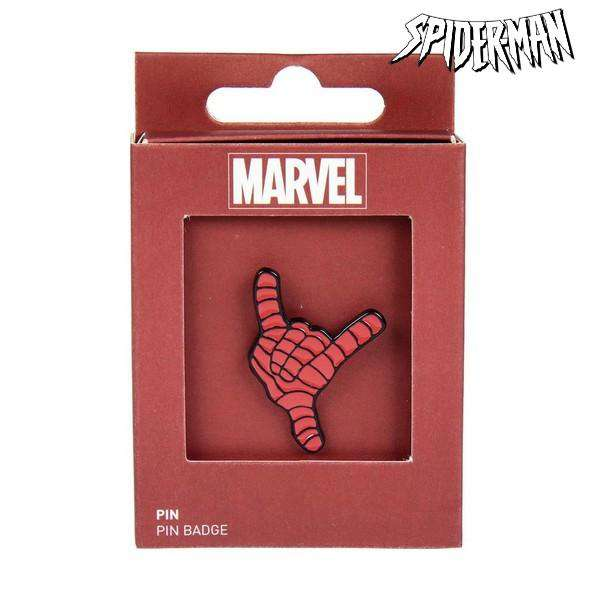 Pin Spiderman Metal Rojo