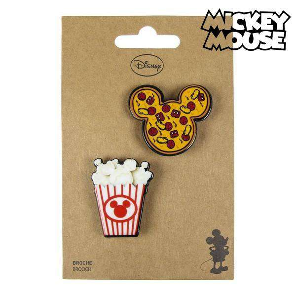 Broche Mickey Mouse Multicolor
