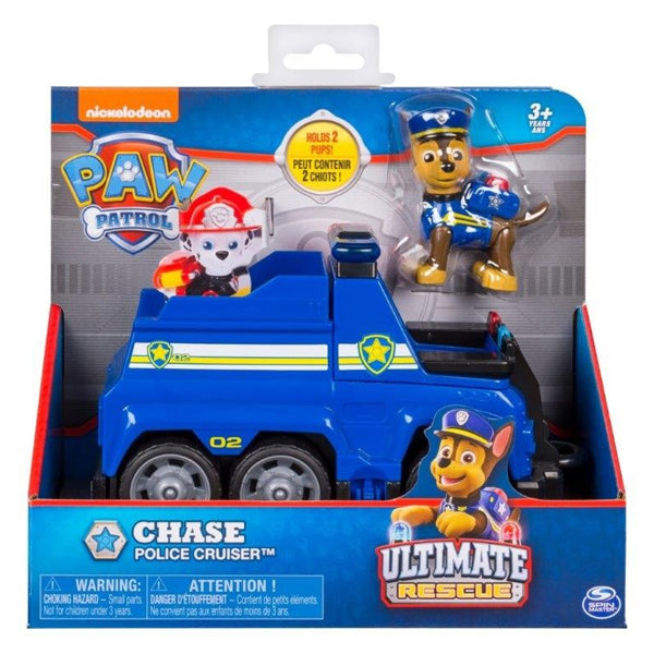 Vehículo Transformador Paw Patrol Ultimate Rescue Bizak (2 pcs)