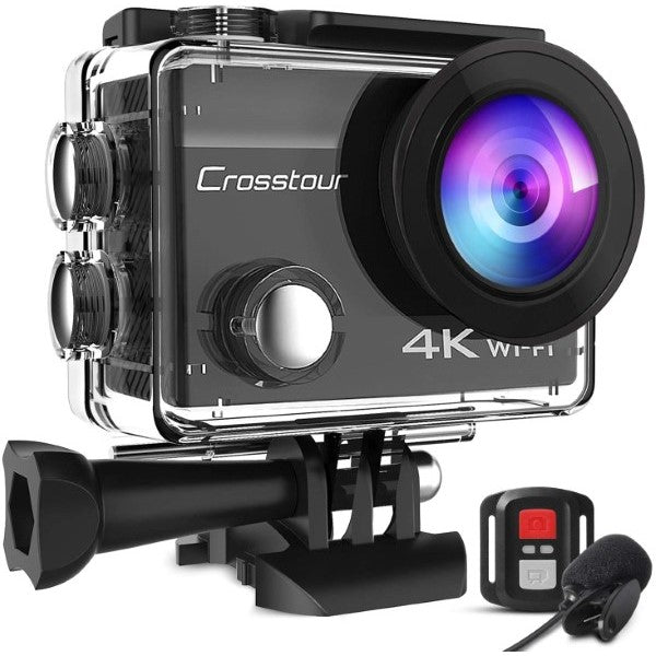 Cámara Deportiva CT8500 4K Wi-Fi 20MP (Reacondicionado A+)