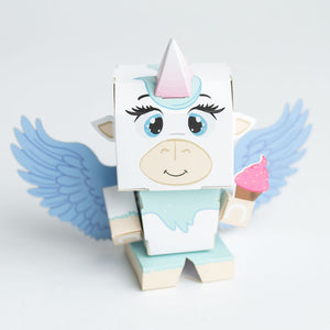 Cubles Alicorn 3D Paperboard Model Kit