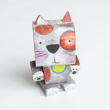 Load image into Gallery viewer, Cubles - Lynn Painted Stuf Dog and Cat