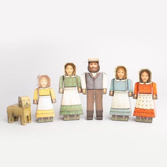 Cubles Little House on the Prairie® Ingalls Family Set