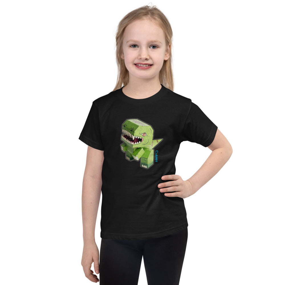 Girls T-Rex Cubles Tee
