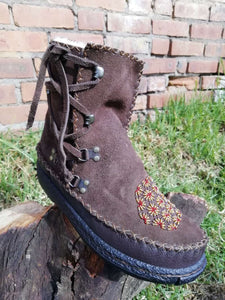 Low Lace Boots (UK 5)