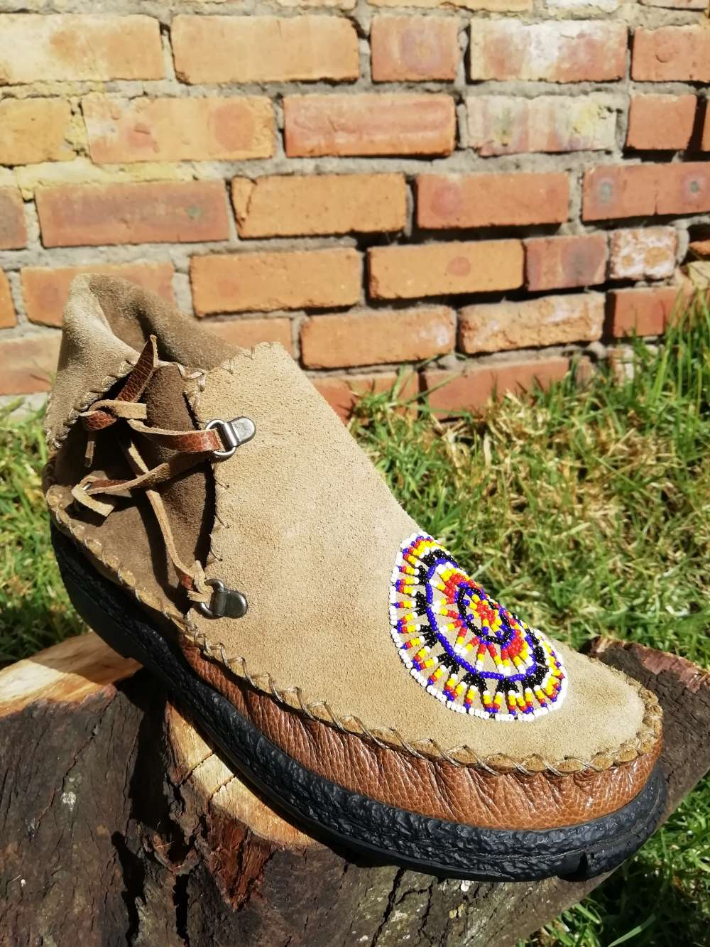 Leather Sioux Shoe (UK 6)