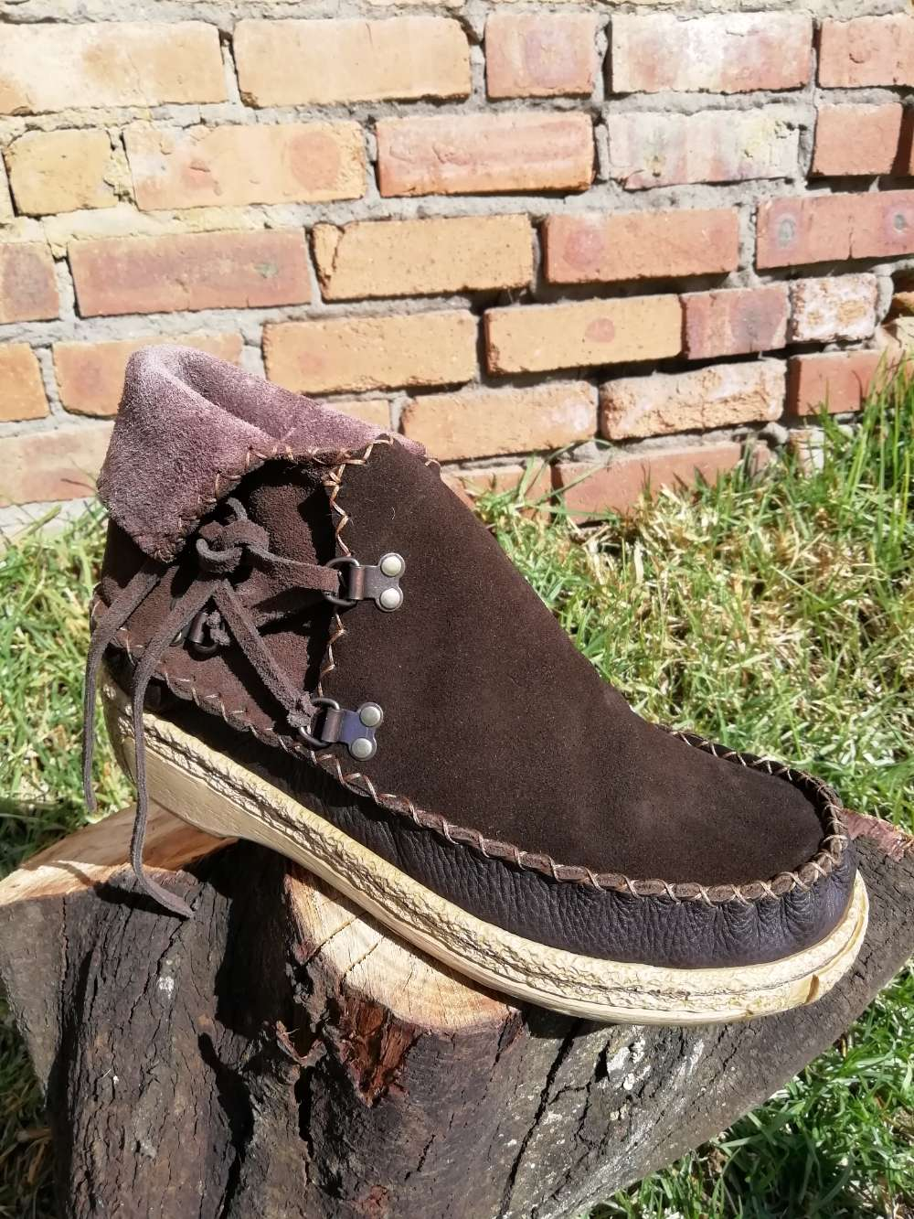 Leather Sioux Shoe (UK 7)