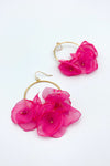 Wildflower Solid Drop Earrings