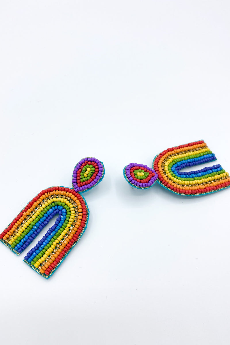 On The Bright Side Rainbow Earrings