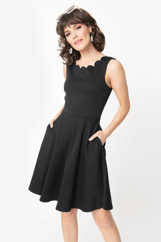 Good To V You Black Dolman Sleeve V Neck Midi Dress