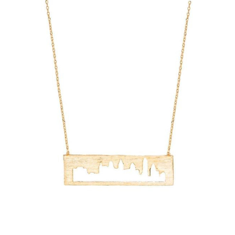 Philadelphia Cityscape Necklace