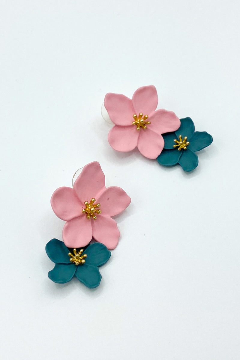 Wildflower Multi Colored Drop Earrings