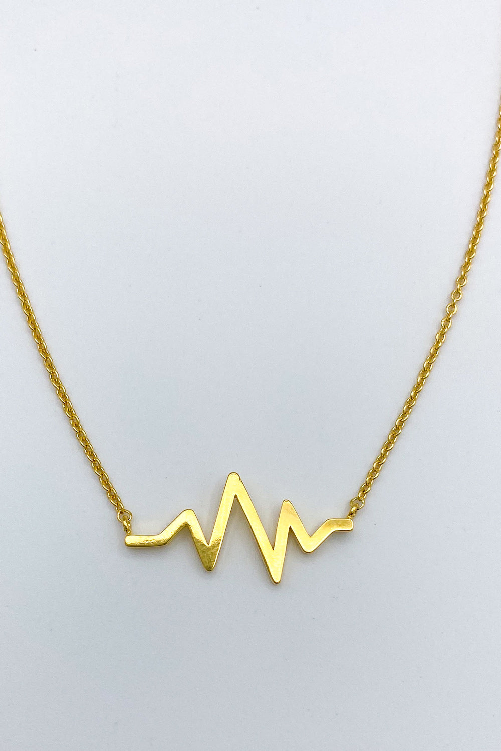Heart of Gold Heartbeat Necklace