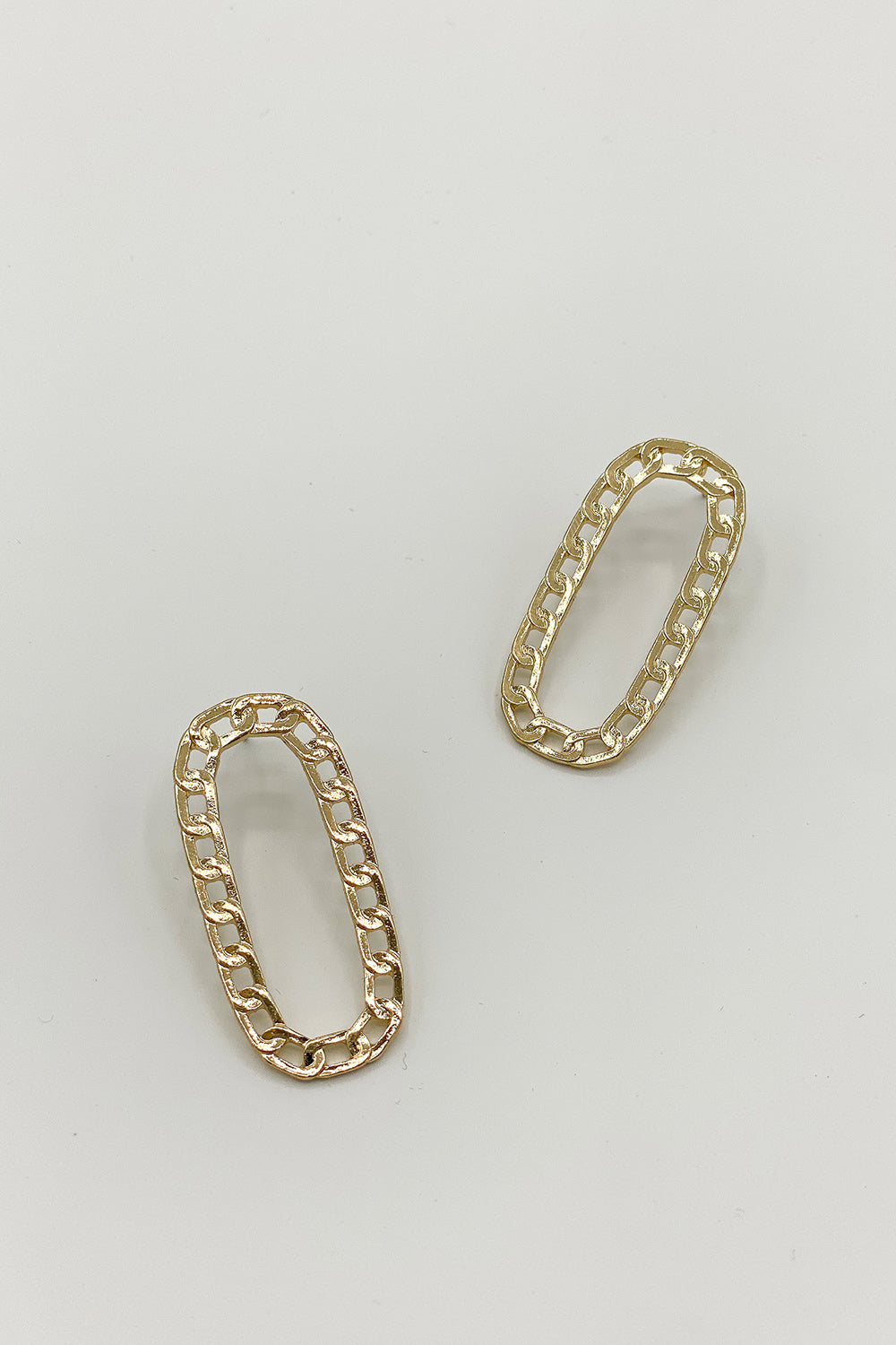Off The Chain Gold Earrings