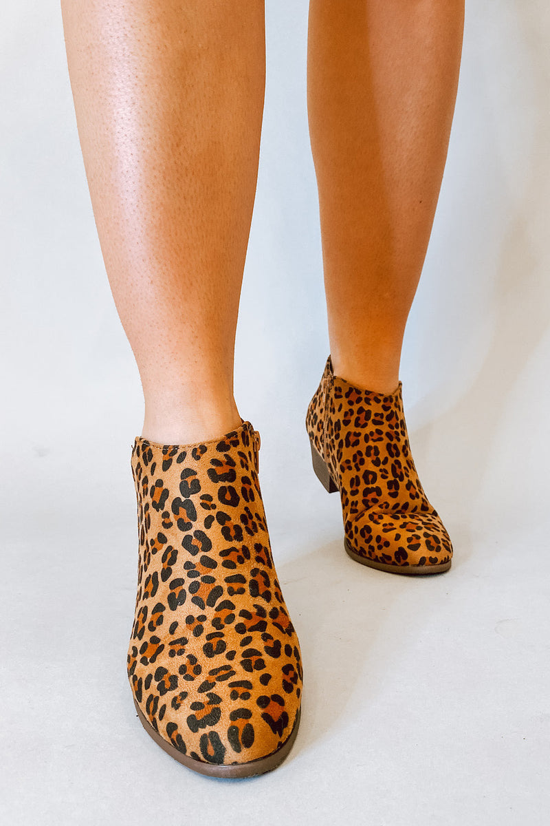 Cheetah Ankle Bootie