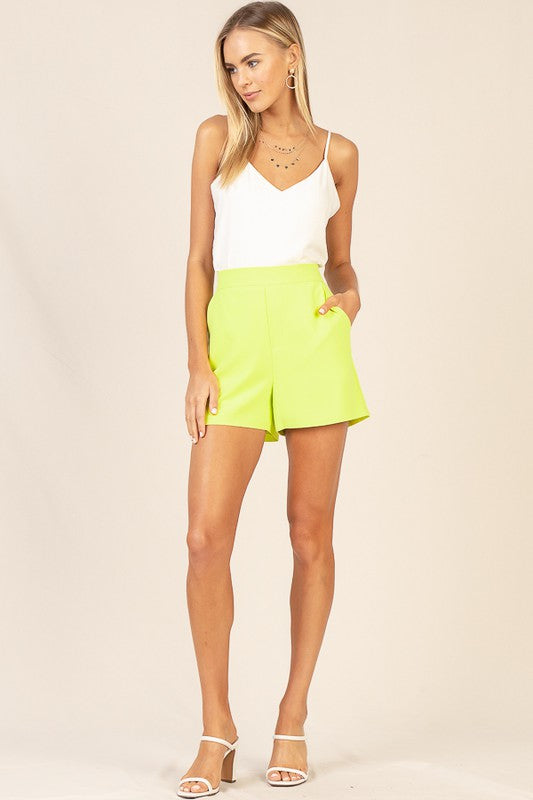It's Electric Neon Green Shorts
