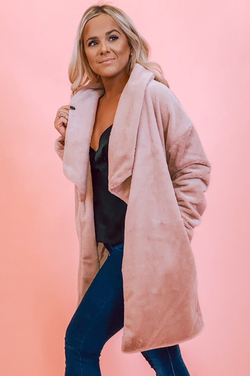exclusive deals sold worldwide good looking Light Pink Soft Faux Fur Coat | Smak Parlour – Smak Parlour Boutique