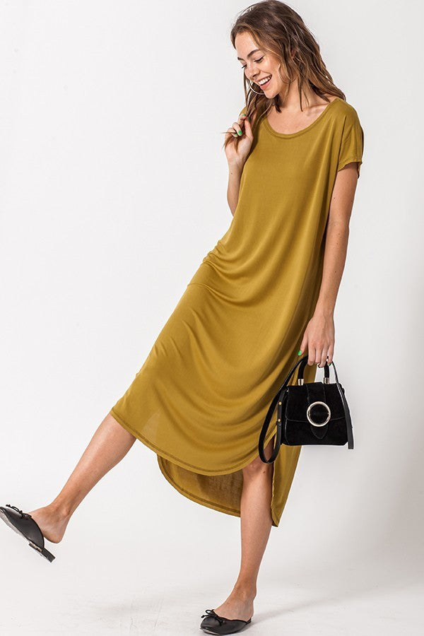 Easy Does It T-Shirt Maxi Dress